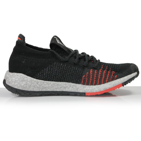 adidas Pulseboost HD Men's Running Shoe -Core Black/Grey Five/Solar Red back