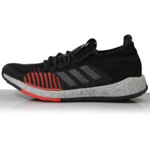 adidas Pulseboost HD Men's Running Shoe -Core Black/Grey Five/Solar Red Sole