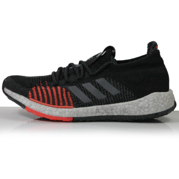 adidas Pulseboost HD Men's Running Shoe -Core Black/Grey Five/Solar Red Sole
