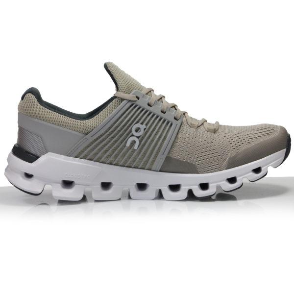 On Cloudswift Men's Running Shoe - Sand/Grey Back
