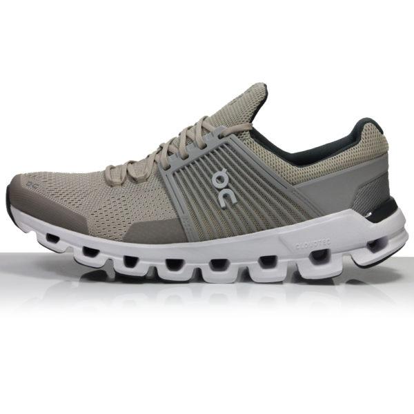 On Cloudswift Men's Running Shoe - Sand/Grey Side