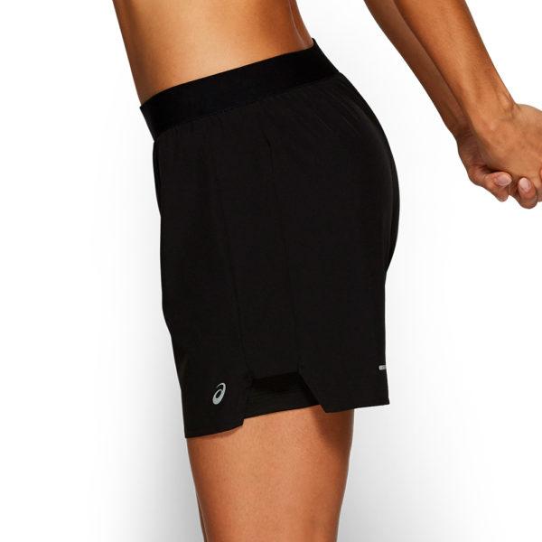 Asics 2in1 5inch Women's Running Short Side
