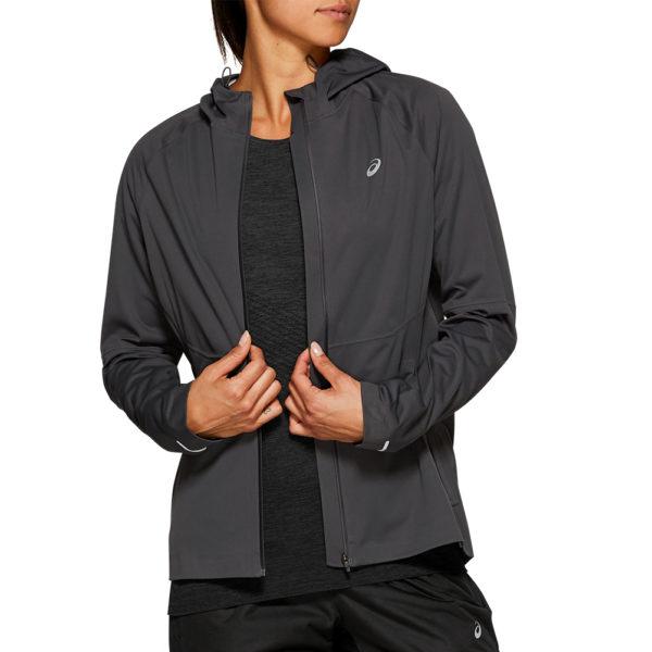 Asics Accelerate Women's Running Jacket Front Open