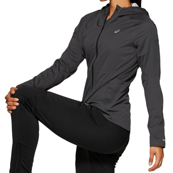 Asics Accelerate Women's Running Jacket Side