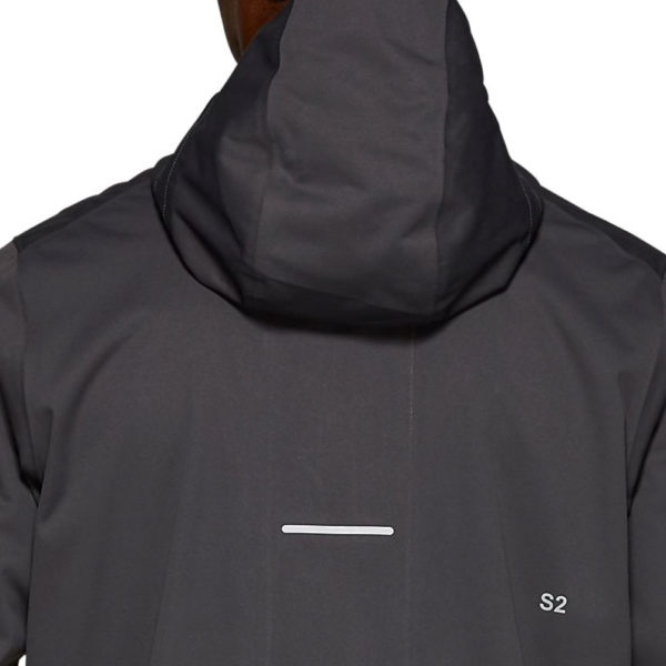 Asics Accelerate Men's Running Jacket Back of hood