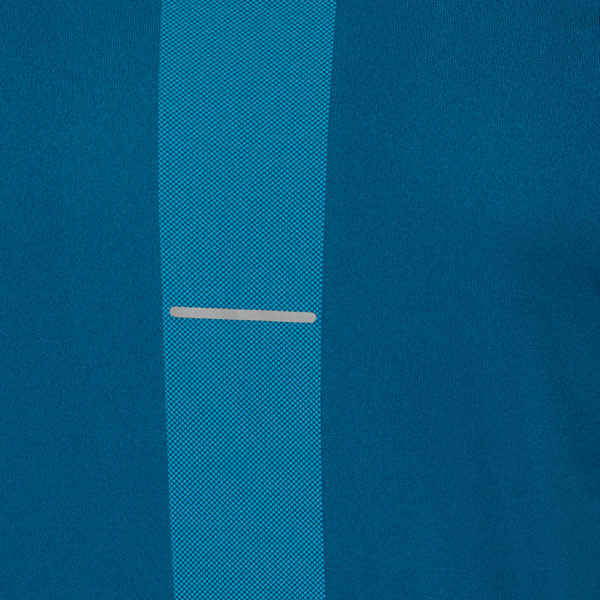 Asics Seamless Texture Short Sleeve Men's Running Top Close up
