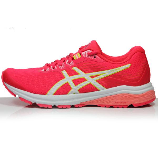 Asics GT-1000 v8 Women's Running Shoe - Laser Pink/White side
