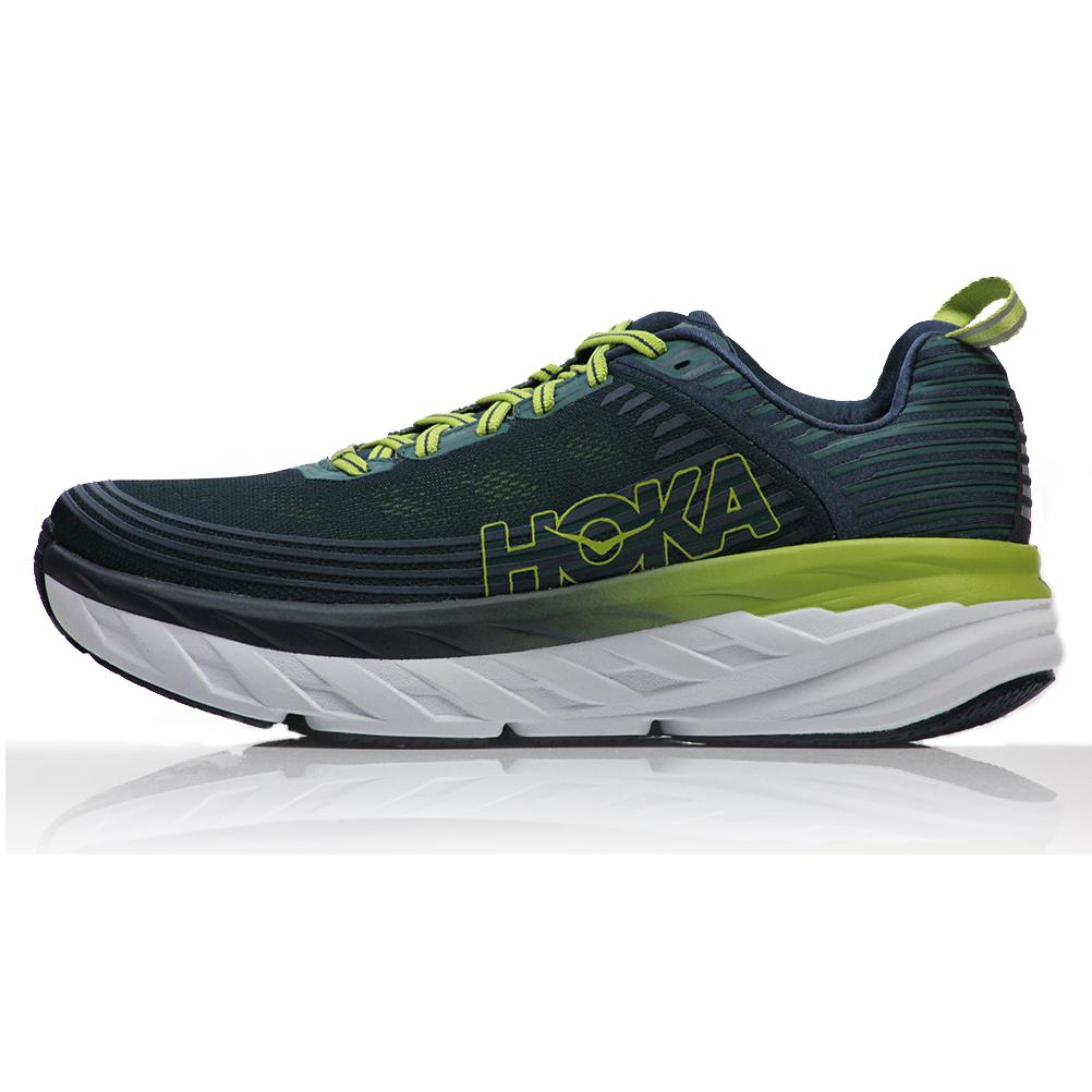 official photos 477d6 dca13 Hoka One One Bondi 6 Men's Running Shoe - Deep Teal/Green Oasis