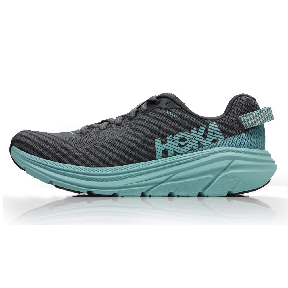 Running Shoe - Charcoal Gray/Aqua Sky