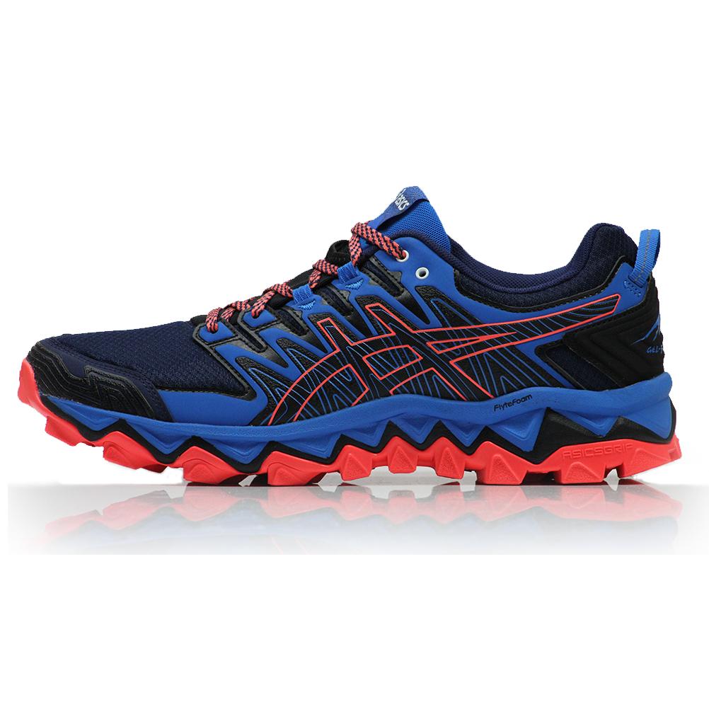 kuuluisa merkki erittäin suosittu katsella Asics Men's Gel Fujitrabuco 7 Trail Shoe - Blue Expanse/Electric Blue