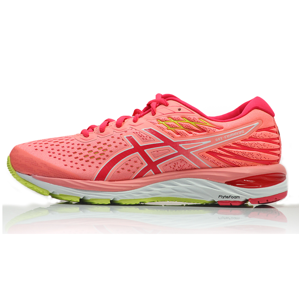 separation shoes 9f862 15e96 Asics Gel Cumulus 21 Women's Running Shoe - Sun Coral/Laser Pink