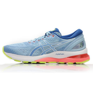 Asics Gel Nimbus 21 Women's Running Shoe - Heritage Blue/Lake Drive SBack