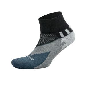 balega enduro running sock black charcoal