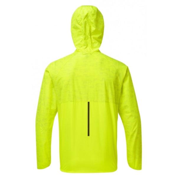 Ronhill Momentum Afterlight Men's Running Jacket fluo yellow reflect back