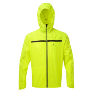 Ronhill Momentum Afterlight Men's Running Jacket fluo yellow reflect front