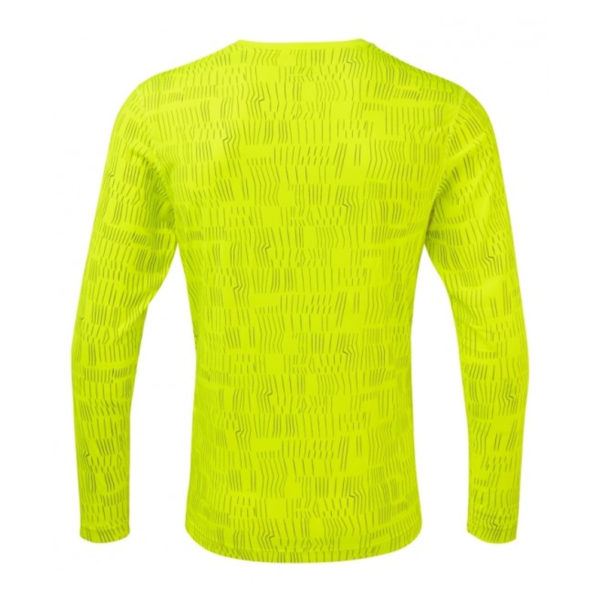 Ronhill Momentum Afterlight Long Sleeve fluo yellow back