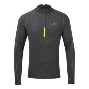 Ronhill Stride Thermal Half Zip Men's Running Top Front