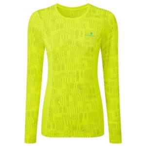 Ronhill Momentum Afterlight Long Sleeve Women's Running Tee Front
