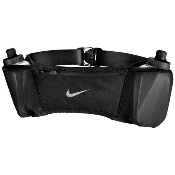 Nike Double Pocket 20oz Flask Belt black silver