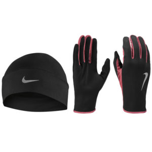 Nike Run Dry Men's Hat and Glove Set both