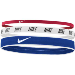 Nike Mixed Width Headbands 3 Pack gym red