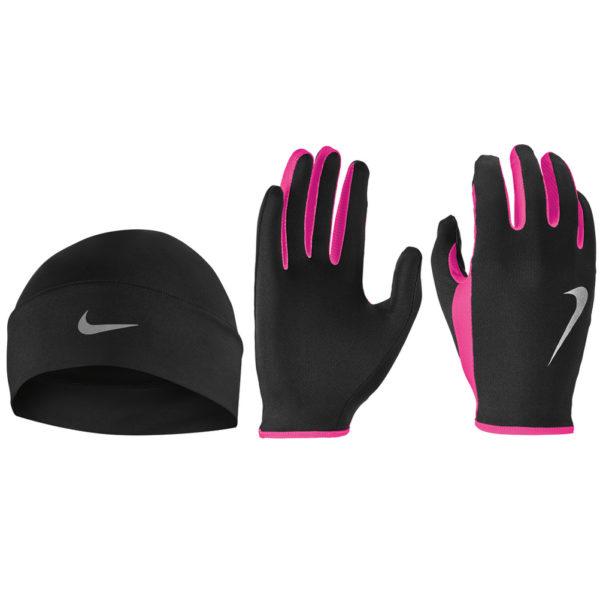 Nike Run Dry Women's Hat and Glove Set both