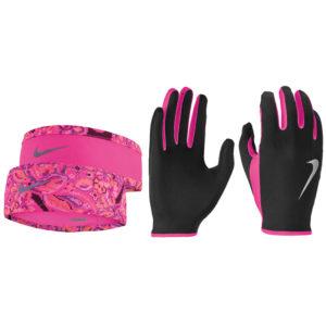 Nike Run Dry Women's Headband and Glove Set both