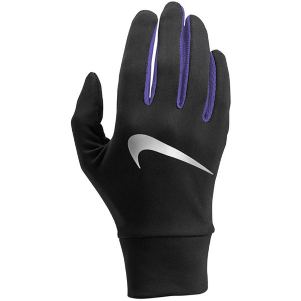 Nike Lightweight Tech Women's Running Glove black purple front
