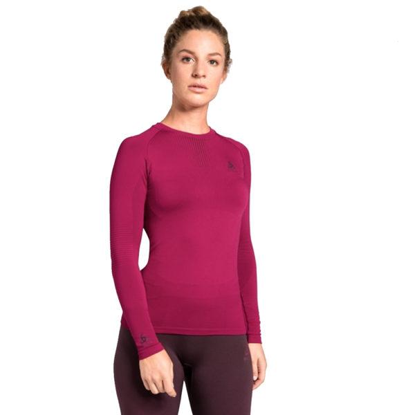Odlo SUW Performance Crew Warm Women's Long Sleeve Top Front