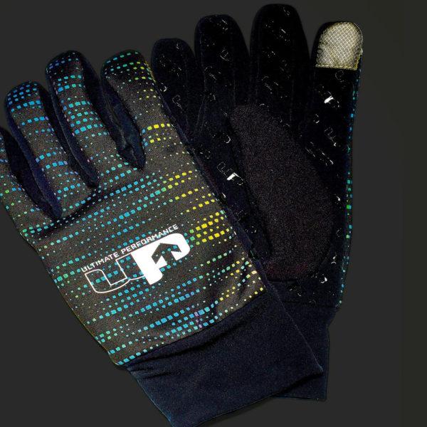 Ultimate Performance Reflective Running Glove Flash Grey