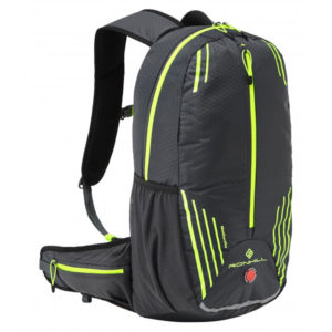 Ronhill Commuter 15L Running Backpack - Charcoal/Fluo Yellow Front