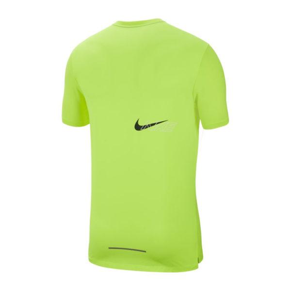 Nike Rise 365 Men's Short Sleeve volt back