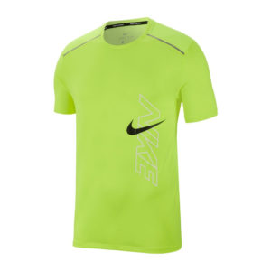 Nike Rise 365 Men's Short Sleeve volt front