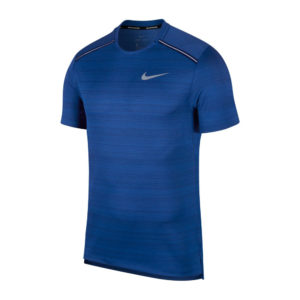 Nike Miler Short Sleeve Men's Running Tee Front