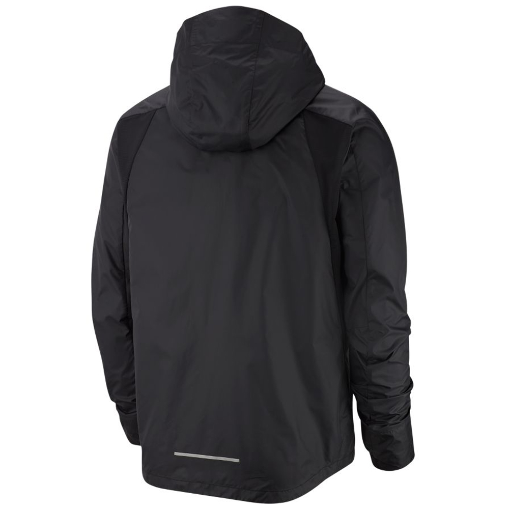 Nike Repel Men's Running Jacket BlackReflective Silver