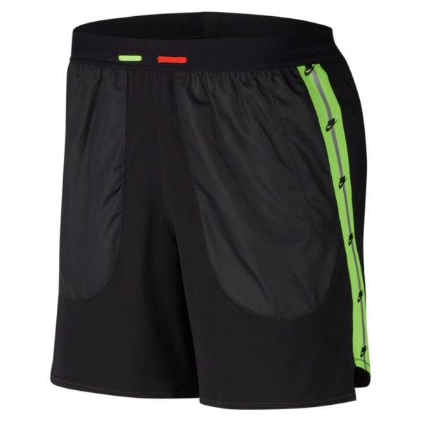Nike Men's Running Short black reflective front