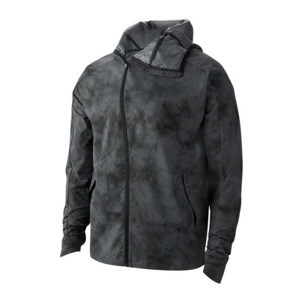 Nike Shield Tech Pack Men's Running Jacket grey front