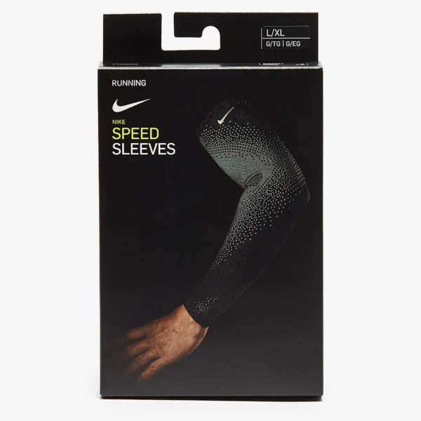 Nike Speed Breaking 2 Running Sleeves - Electric Green/Silver Boxed