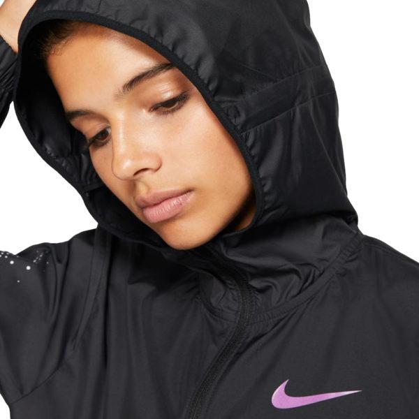 Nike Essential Women's Running Jacket Hood