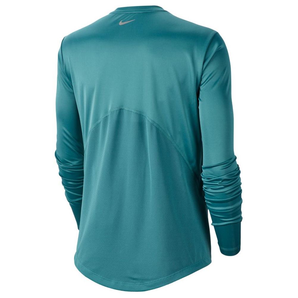 deslealtad representación carbón  Nike Miler Long Sleeve Women's Running Tee - Mineral Teal | The Running  Outlet