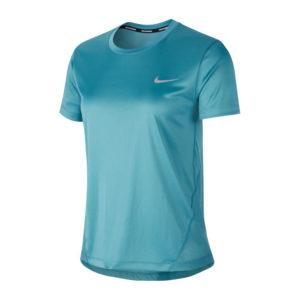 Nike Miler Short Sleeve Women's mineral front