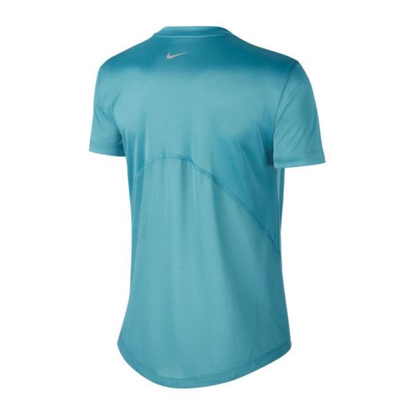 Nike Miler Short Sleeve Women's mineral back