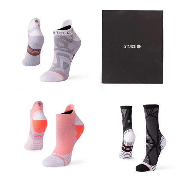 Stance Assorted 19 Women's Running Sock Gift Pack Box and Socks