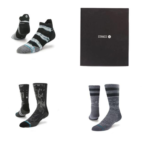 Stance Assorted 19 Men's Running Sock Gift Pack