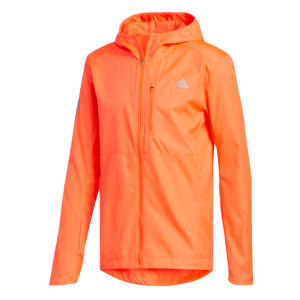 adidas Own The Run Men's Jacket solar red front