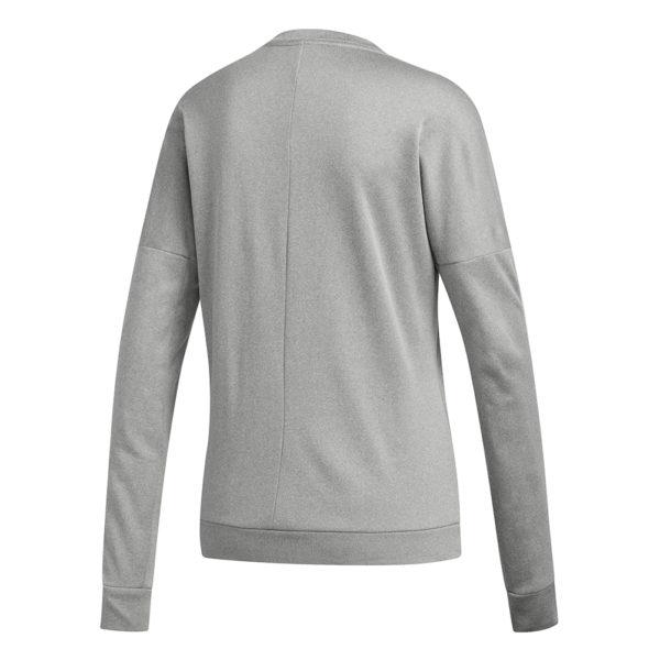Adidas Run It Women's Long Sleeve grey heather back
