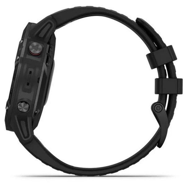 Garmin Fenix 6X Pro GPS Running Watch black side