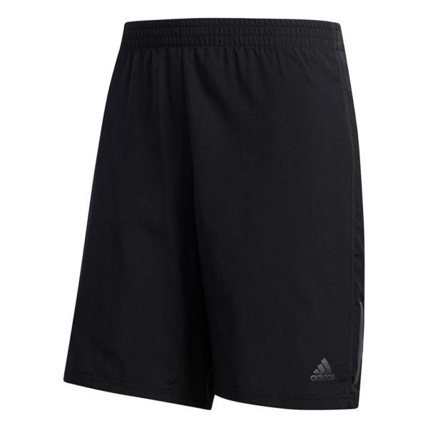 Adidas Own The Run 2in1 5inch Men's Running Short black solar red front