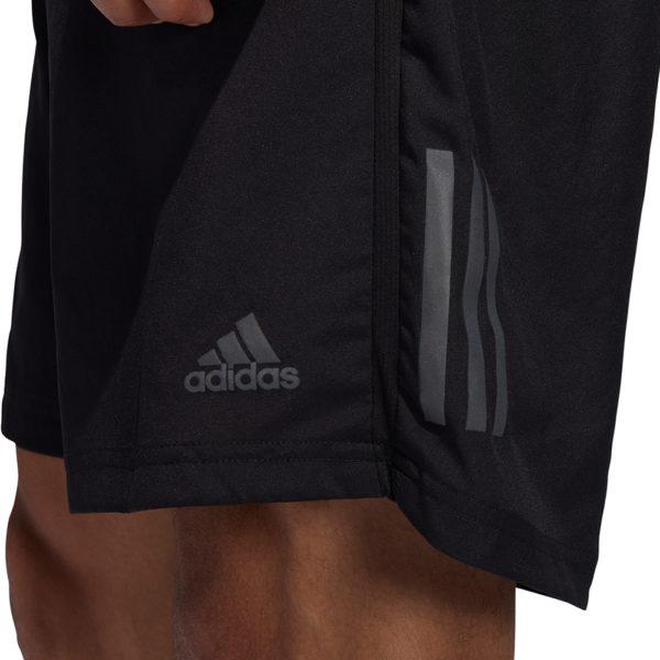 Adidas Own The Run 2in1 5inch Men's Running Short black solar red detail