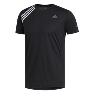 adidas Own The Run Short Sleeve Men's black front